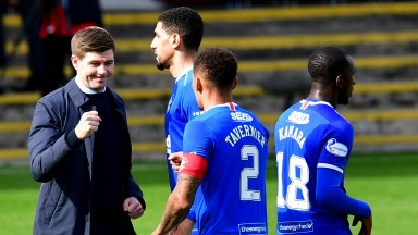 Steven Gerrard can lead his Rangers side to another title