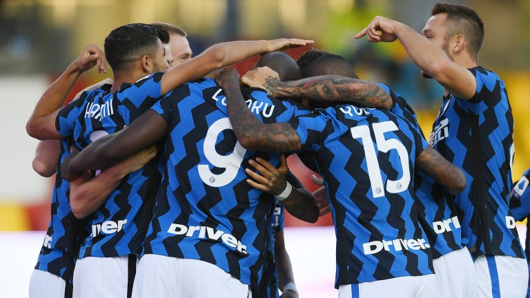 Inter take on rivals Milan at the San Siro on Saturday