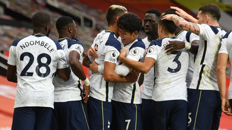 Tottenham had plenty to celebrate at Old Trafford