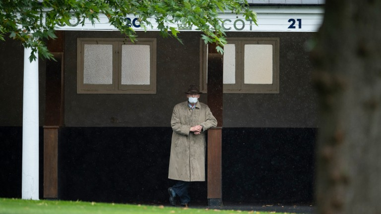 John Gosden felt that the testing conditions were against Stradivarius on Saturday