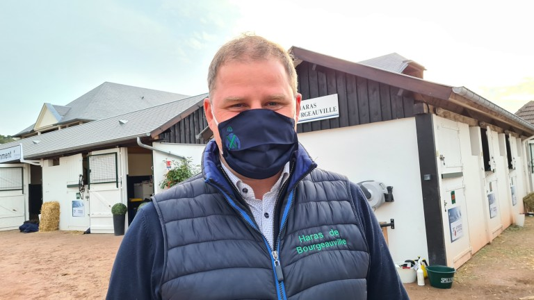 Philip Lybeck, whose Haras de Bourgeauville was responsible for Tuesday's top lot at Arqana, an €85,000 son of Adlerflug