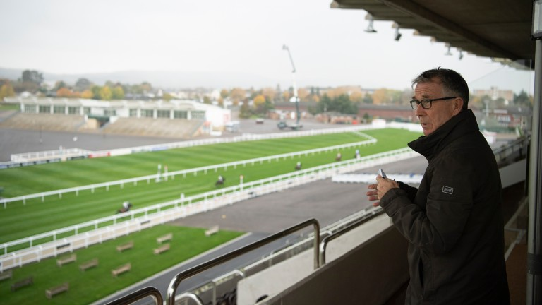 """Simon Claisse: """"You have to bear in mind we have a low sun problem at Cheltenham"""""""