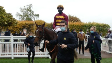 Gear Up and James Doyle made all to score in the Group 1 Criterium de Saint-Cloud