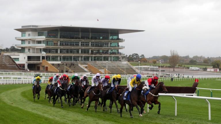 Racing returned at Cheltenham last week