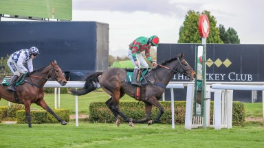 NUTSWELL and Danny McMenamin wins The Old Roan Chase at AINTREE 25/10/20Photograph by Grossick Racing Photography 0771 046 1723