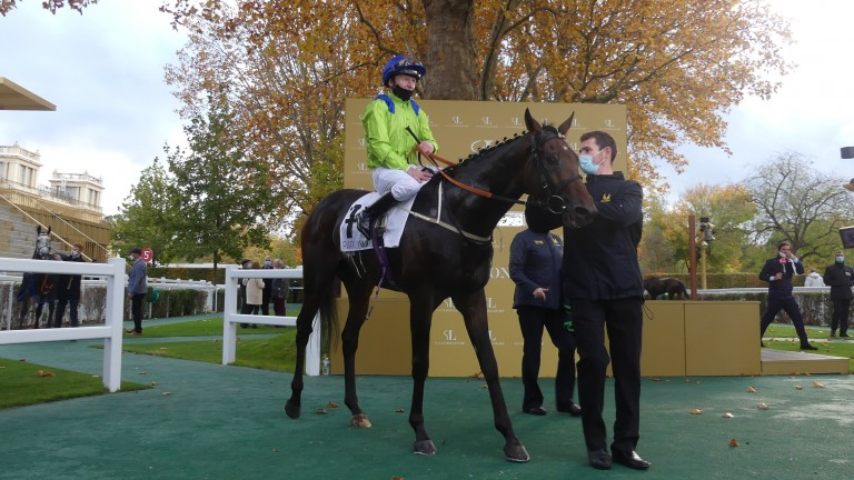 Subjectivist: led all the way to win the Group 1 Prix Royal-Oak