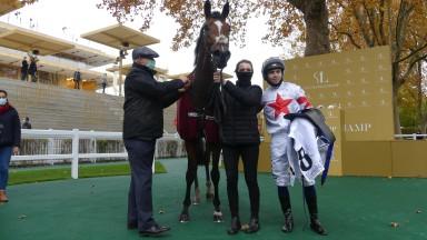 Baron Samedi extended his remarkable rise up the ranks when winning the Group 2 Prix du Conseil de Paris at Longchamp under Mickael Barzalona