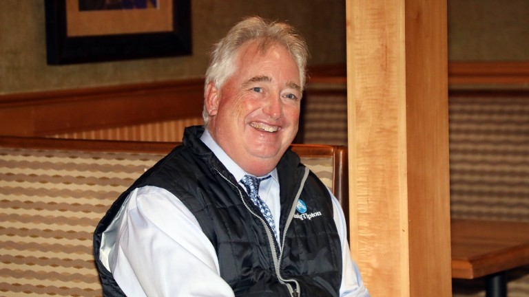 Fasig-Tipton boss Boyd Browning: honoured to assist in the dispersal process