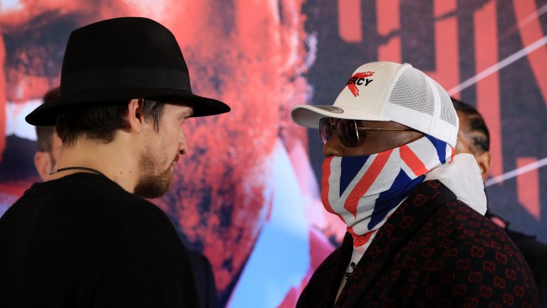 Oleksandr Usyk and Derek Chisora clash at Wembley Arena tonight