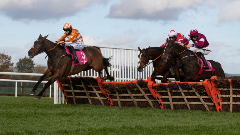 Aspire Tower and Rachael Blackmore skip clear in the WKD Hurdle
