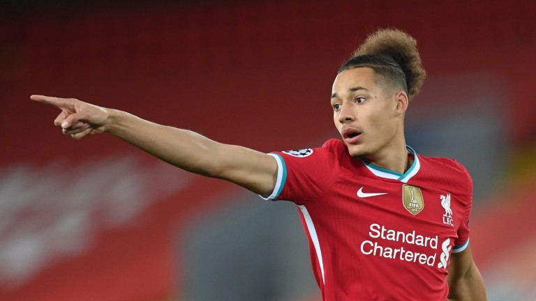 Rhys Williams could get another chance to impress for Liverpool