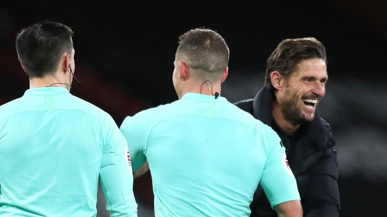 Bournemouth boss Jason Tindall has plenty to smile about