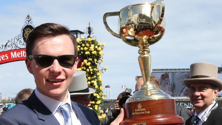 Joseph O'Brien: twice a winner of the Melbourne Cup as a trainer