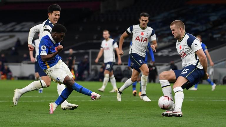 Brighton's Tariq Lamptey nets against Tottenham