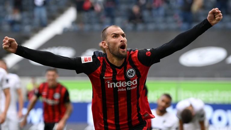 Eintracht Frankfurt striker Bas Dost
