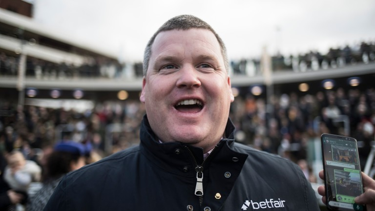 Gordon Elliott: has as many as 16 horses entered