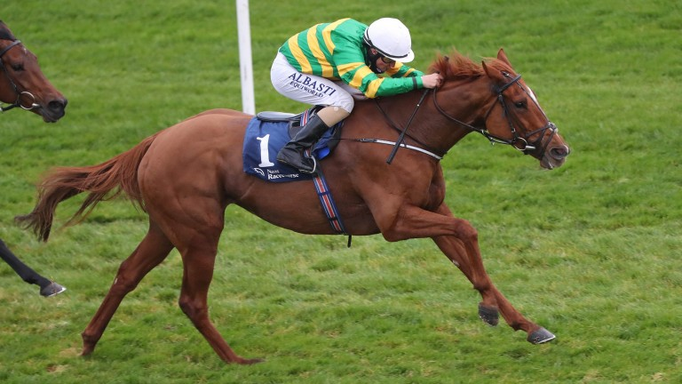 Barrington Court impressed in the Listed Finale Stakes at Naas