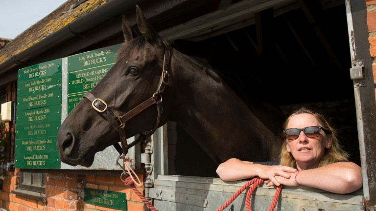 Ditcheat's dynamic duo: Big Buck's and Rose Loxton