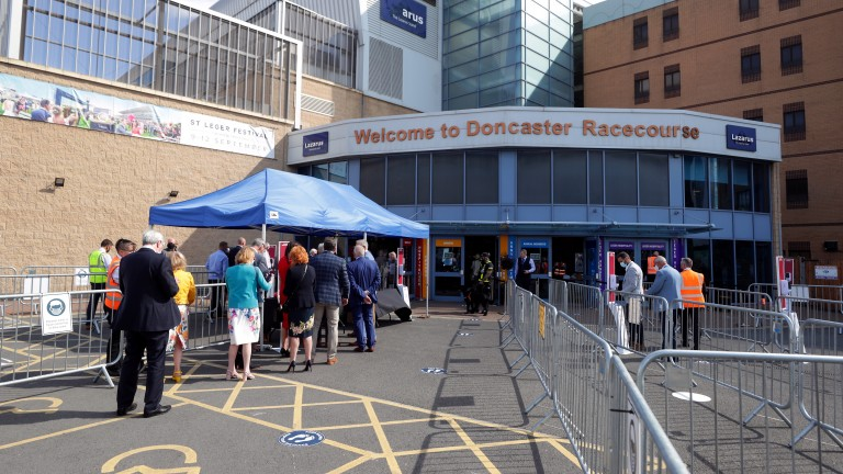 Racegoers keen to return to racing at Doncaster in September