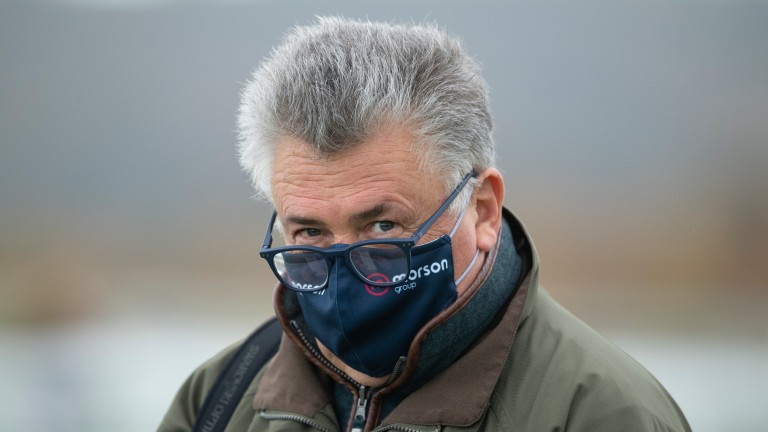 Paul Nicholls: bids to get an important week off to a flyer at Huntingdon