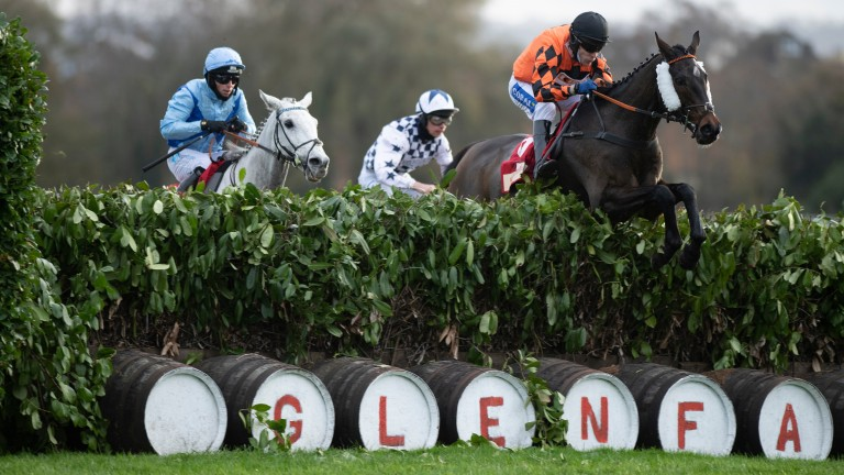 Kingswell Theatre: won over the cross-country fences in November