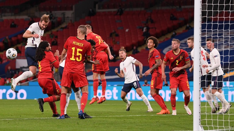 England beat Belgium at Wembley in October