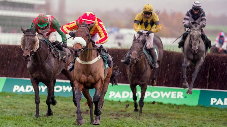 Coole Cody leads the way in the Paddy Power Gold Cup, which helped draw an audience of over one million to ITV's coverage