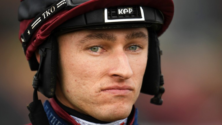 Adam Wedge: leading jockey said his comments on ITV were in the heat of the moment
