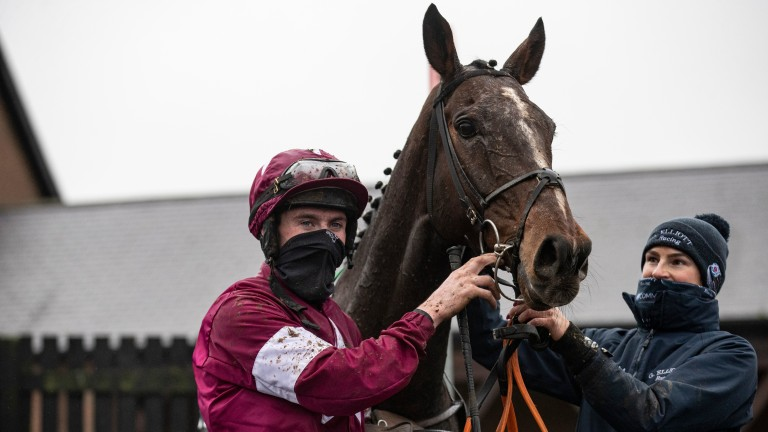 Abacadabras and Jack Kennedy came out on top in the Unibet Morgiana Hurdle at Punchestown on Sunday