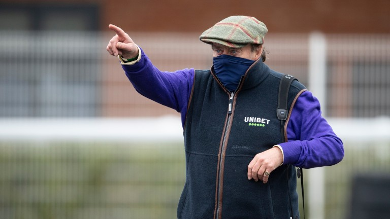 """Nicky Henderson: """"It's a great effort from Newbury, the sponsors Betfair, the BHA and ITV"""""""