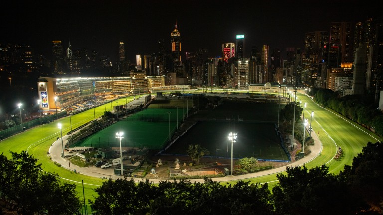 Betting turnover funds annual prize-money of around HK$1.4bn, spread across 88 meetings at Sha Tin and Happy Valley (pictured)