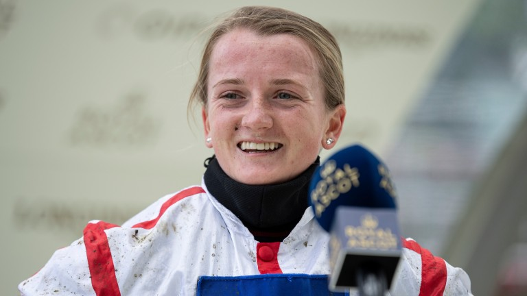 Hollie Doyle: rides Deirdre in the Bahrain International Trophy on Friday