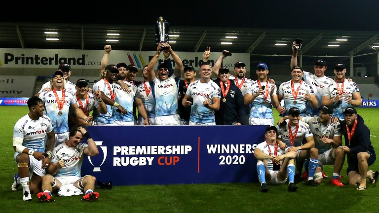 Sale Sharks lifted the Premiership Rugby Cup in September