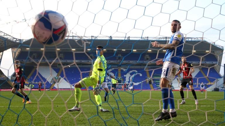David Brooks scores his second goal in Bournemouth's win against Birmingham