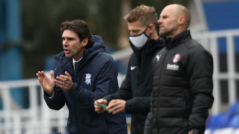 Aitor Karanka can guide his Birmingham side to victory over groundshare rivals Coventry