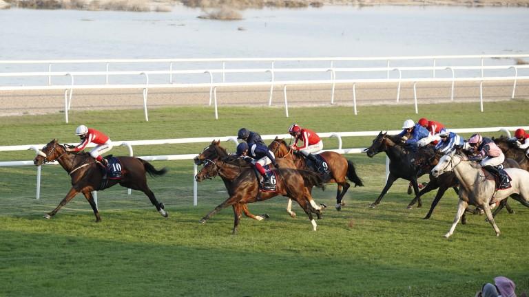Simsir: held off Global Giant to win the Bahrain International