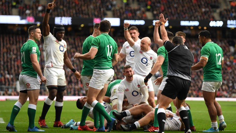 England can edge Ireland just as they did in the Six Nations in February