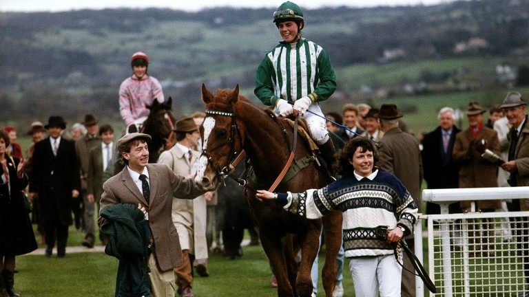 Lonesome Glory: legendary steeplechase performer remains the only horse to win in Britain from the US