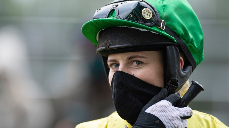 Bridget Andrews: was the toast of Twitter after Robin Gold's cheeky win