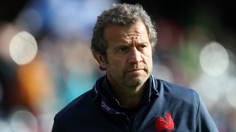 France coach Fabien Galthie