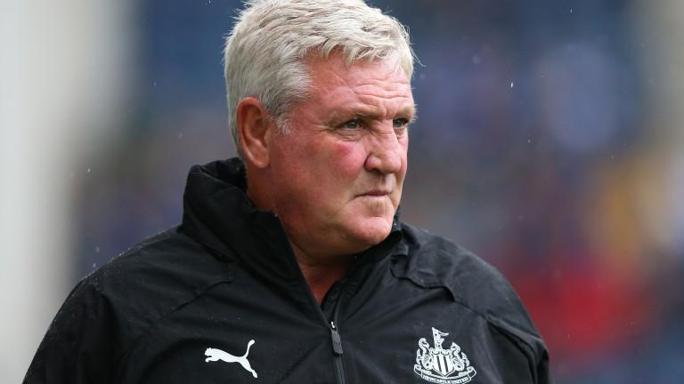 Newcastle manager Steve Bruce