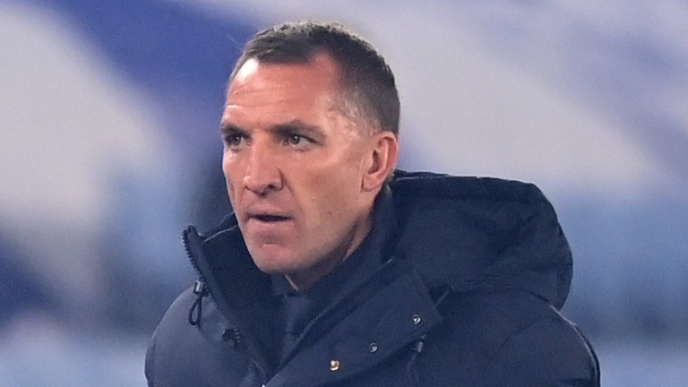 Leicester manager Brendan Rodgers must cope with a lengthy injury list