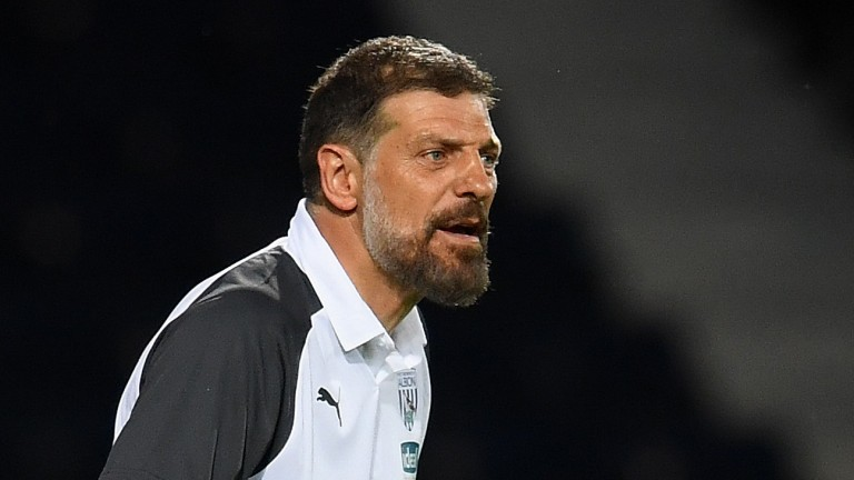 West Brom manager Slaven Bilic