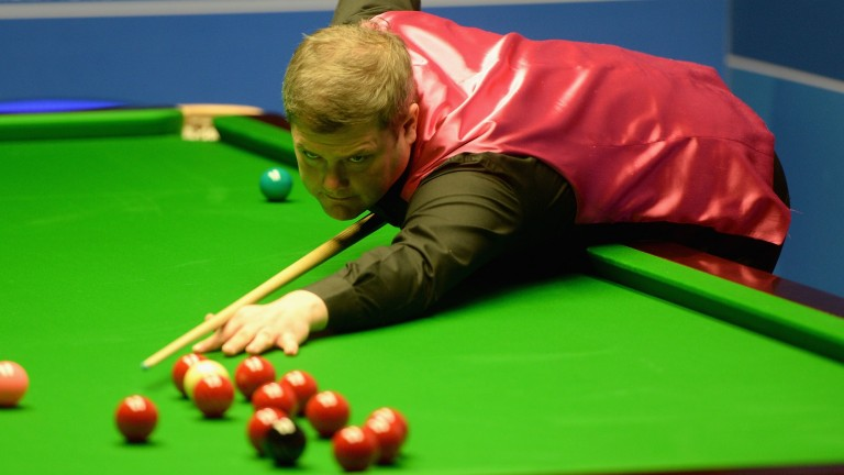 Robert Milkins could be up against it when he plays talented youngster Si Jiahui