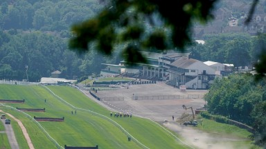 Chepstow: waiting to hear whether spectators can attend its meeting on December 5