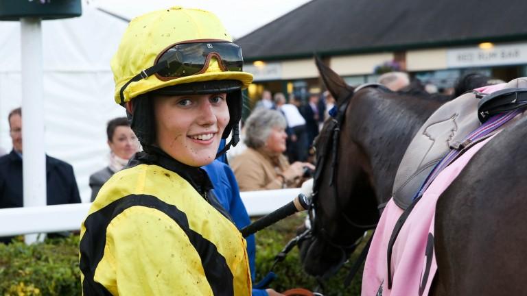 Ella McCain: enjoyed a double at Wolverhampton on Tuesday