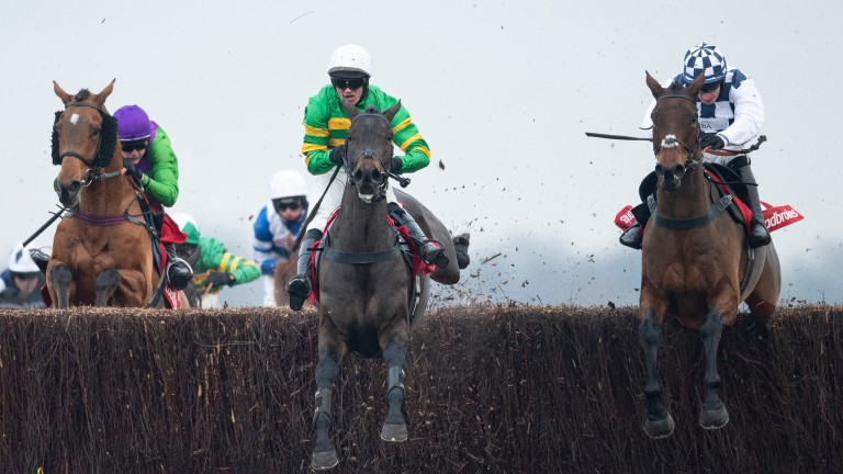 Clondaw Castle (right) won well at Newbury last month