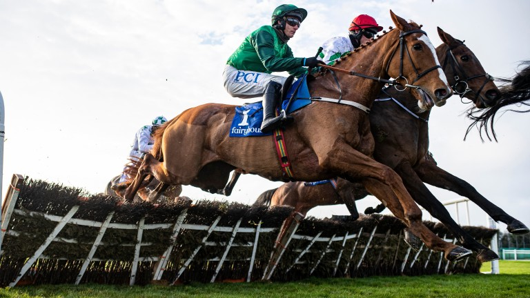 Concertista: the Mares' Hurdle favourite is entered at Punchestown on Wednesday