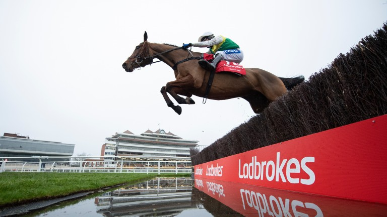 Cloth Cap is heading to Aintree as a huge National fancy after two great performances this season