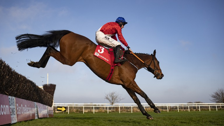 Envoi Allen: Henry de Bromhead sent the 164-rated chaser to Fethard Equine Hospital